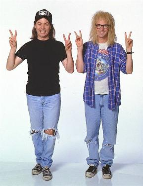 Wayne and Garth in Wayne's World