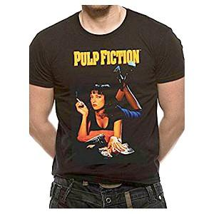 Pulp Fiction 90s Movie Poster T-shirt for Men