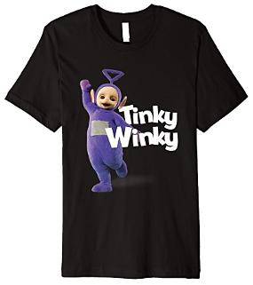 Tinky Winky T-shirt for Adults